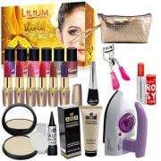 Budget Bazaar Beauty Combo Makeup Sets With Gold Facial Kit Iron