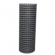 Industrierost für hohe mechanische Belastung Rolle à 10 m Breite 1000 mm, grau