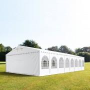 taltpartner.se Partytält 8x16m PVC 550 g/m² vit vattentät