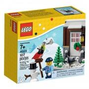 Lego 40124 winter plezier
