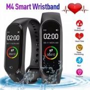 Влагоустойчива смарт гривна Smart technology M4, Пулс, Кръвно налягане