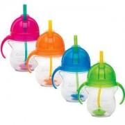 Неразливаща чаша с дръжки и сламка с тежест - 11888 Munchkin - 4 налични цвята, 5019090118880