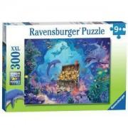 Пъзел Ravensburger 300 части XXL - Съкровище в океана, 7013255