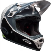 Bell Transfer-9 Downhill Casco Negro Blanco Verde XL