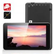 7 pouces Android 4.4 Tablet Eta - Quad Core A33 CPU, Mali-400 GPU, 8 Go de mémoire interne, OTG (Noir)
