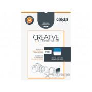 Cokin P667 lapszűrő, fluo blue gradient 1