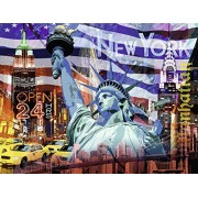 Ravensburger New York Collage Jigsaw Puzzle (2000 Piece)