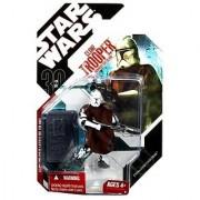 Star Wars Saga 2008 30th Anniversary Wave 1 Action Figure Clone Trooper With Cloak (Episode II)