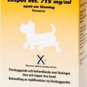 MSD Animal Health Exspot vet., spot-on, lösning 715 mg/ml 6 x 1 ml
