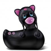 Big Teaze Toys I Rub My Duckie Hoodie Kitty - schwarz