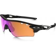 Oakley Radarlock Path - Sportbril - Polished Black / Prizm Trail & Clear Vented