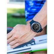 Quiksilver Stringer Tide - Reloj Digital para Hombre - Negro - Quiksilver