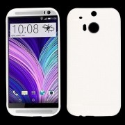 HTC One M8 - hoes, cover, case - TPU - Mesh - Wit