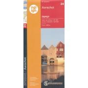 Topografische kaart - Wandelkaart 24 Topo50 Aarschot | NGI