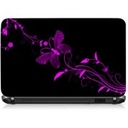 VI Collections Butter fly Printed Vinyl Laptop Decal 15.5