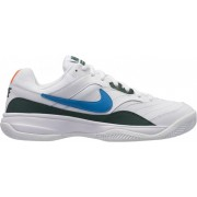 Nike muška obuća Court Lite Clay Tennis Shoe, White Neo Turq-Blue Force-Hyper Crimson, 47,5