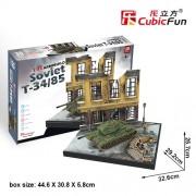 Puzzle 3D - Tancuri rusesti - Soviet T34/85