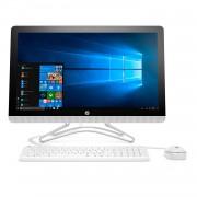 All In One HP Pavilion 24E030 24 pulgadas, Intel Core i5-7200U de doble núcleo, 8 GB de RAM, disco duro de 1TB, Windows 10 Blanca