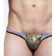 Mategear Kum Ja VI Special Fabrics Front Mini Bikini Swimwear Snake Print 1410802