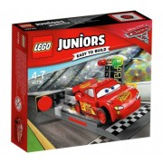 Lego Junior-Lansatorul de viteza Fulger McQueen (10730)