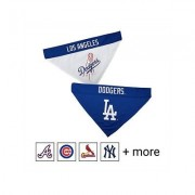 Pets First MLB Reversible Dog Bandana, Los Angeles Dodgers, Small/Medium