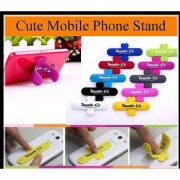 Universal Portable Touch-U Silicone Stand for Mobile phones