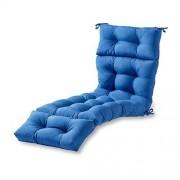 Greendale Home Fashions Cojín de 1,82 m para Silla de Playa, En Interiores o Exteriores, Azul Marino