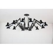Scaldare Plafondlamp Design Zwart 12 Lichtpunten - Scaldare Doues