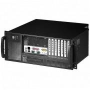 """Chassis Industriale Rack 19""""/Desktop 4U Ultra Compatto Nero"""