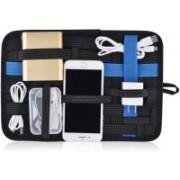 divinezon Vehicle Storage Plate Grid it Electronics Cosmetics Tool any other organizer Bag(Black)