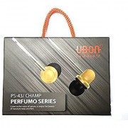 Ubon Perfumo Series PS-43 With Perfumed High Big Daddy Bass Hands-free For All Type Phones Assorted Colours