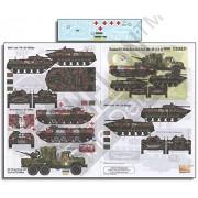 Echelon Fine Decal 1:35 Ukrainian AFVs Pt.9: BMD-1, MT-LB & ZIL-131 #D356231
