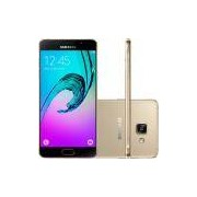 Smartphone Samsung Galaxy A7 2016 Duos Android 5.1 Tela 5.5 16GB 4G Câmera 13MP