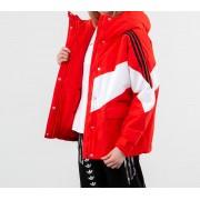 adidas Iconic Winter Jacket Active Red/ White/ Black