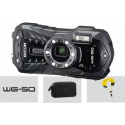 Aparat Foto Digital Ricoh WG-50 Rezistenta la Apa 16MP Black