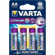 VARTA baterie litiu PROFESSIONAL AA LR6 - blister4