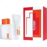 Jil Sander Perfumes masculinos Sun Men Gift Set Eau de Toilette Spray 75 ml + Fresh All Over Shampoo 75 ml 1 Stk.