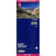 Wegenkaart - landkaart Chili - Chile | Reise Know-How Verlag
