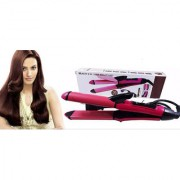 Imported Best Quality NHC 2009 2 in 1 Beauty hair curler and hair straightener with adwance heating
