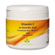 Vitamina C Pudra Supliment Alimentar 250g Nutri Script