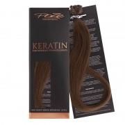 Poze Standard Keratin Extensions Lovely Brown 6B - 40cm