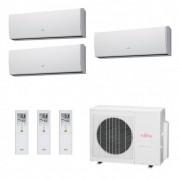 Fujitsu Condizionatore Trial Split Parete Gas R410A Serie LU 9+9+9 Btu ASYG09LUCA ASYG09LUCA ASYG09LUCA AOYG18LAT3 A++/A+