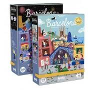 Puzzle reversibil Londji zi si noapte in Barcelona