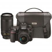 Nikon D7500 DSLR Kit con 2 lentes + bolso