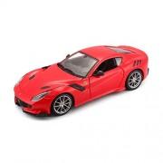 Bburago Ferrari F12 Tdf 26021R 1/24 Scale Diecast Model Toy Car (Red)