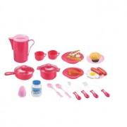 G21 Játék edénykészlet, rózsaszín 39 darab