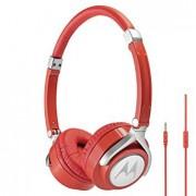 HEADPHONES, Motorola Binatone Pulse Max - слушалки за смартфони и мобилни устройства, Червен