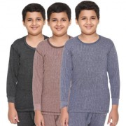 Vimal-Jonney Special Premium Blended Multicolor Thermal Top For Boys(Pack Of 3)