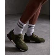 Superdry Retro Runner Sneaker 44 Khaki