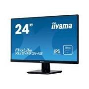 iiyama ProLite XU2493HS-B1 - Écran LED - 23.8 - 1920 x 1080 Full HD (1080p) - IPS - 250 cd/m² - 1000:1 - 4 ms - HDMI, VGA, DisplayPort - haut-parleurs - noir